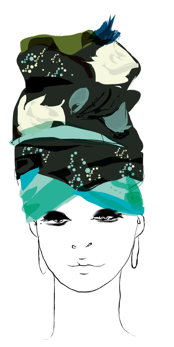 foulard Pierre louis Mascia